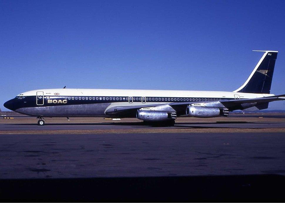 BOAC Boeing 707-436 Wheatley