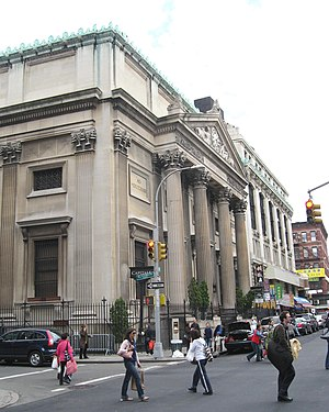 Grand Street (Manhattan) - Bowery Savings Bank