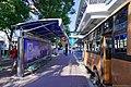 BTS Kasetsart University - KU bus stop with station exit.jpg