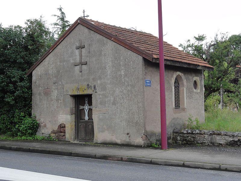Baccarat (M-et-M) chapelle Sainte-Catherine