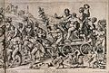 Bacchus on a chariot preceded by a drunken procession of Wellcome V0019443.jpg