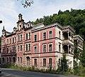 Bad Blankenburg - ehem. Hotel Chrysopras - Südost-Fassade von Osten.jpg