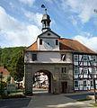 Bad Sooden-Allendorf - Södertor um 1740, Fachwerkhaus.JPG
