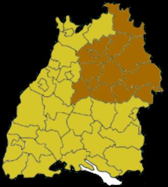 Stuttgart (region) - Image: Baden Wuerttemberg rbstuttgart