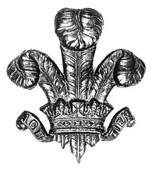 130th Baluchis - Image: Badge of 130th King George's Own Baluchis (1903 22)