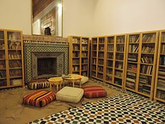 Bahia Palace Marrakech - library.jpg