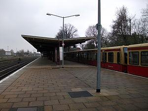 Kaulsdorf station - Berlin-Kaulsdorf station