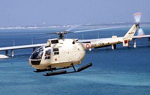 Royal Bahraini Air Force - A Bahraini BO-105 helicopter