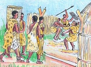 Kiga people - The traditional wedding ceremony