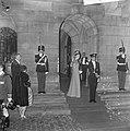 Bal op Paleis op de Dam , aankomst prins Albert en prinses Paola, Bestanddeelnr 918-8636.jpg