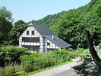 Cotter (farmer) - A cotter house (Kotten) near Solingen, Germany - used as a vacation home today