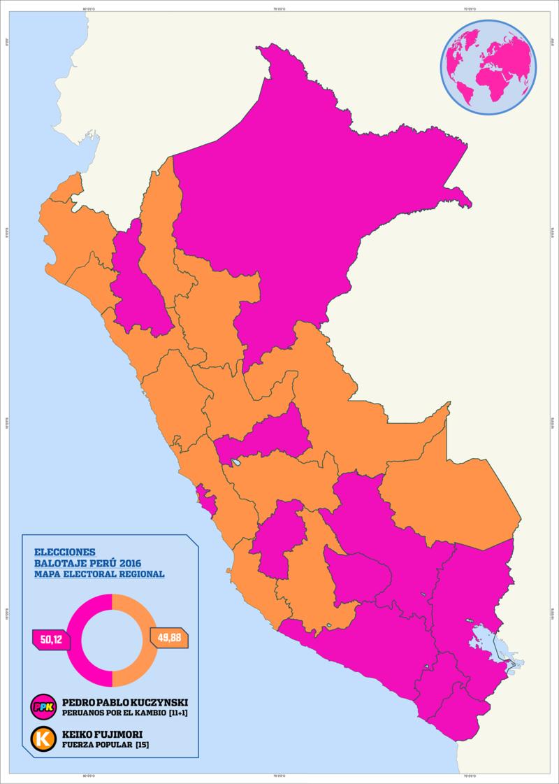 Elecciones generales de Perú de 2016