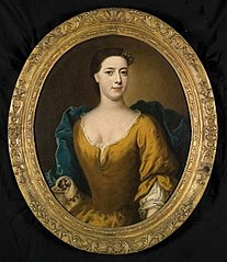 Portret van Jacoba Catharina van Schoonhoven (1717-1794)