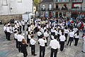 Banda de Música Municipal de Valga en una fiesta en Pontecesures.jpg
