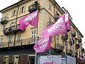 Bandiere al BiellaPride 2008 - Foto Giovanni Dall'Orto, 14-June-2008 2.jpg
