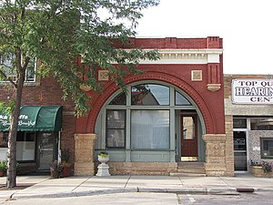 National Register of Historic Places listings in Redwood County, Minnesota - Image: Bank Redwood Falls