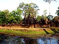 Banteay Srei - 002 Moat and Temple (8582527560).jpg