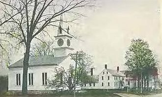 Northwood, New Hampshire - East Northwood c. 1910