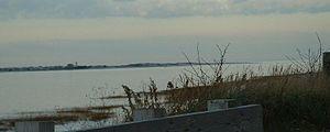 Barnstable, Massachusetts - Barnstable Harbor, as seen from Millway Beach