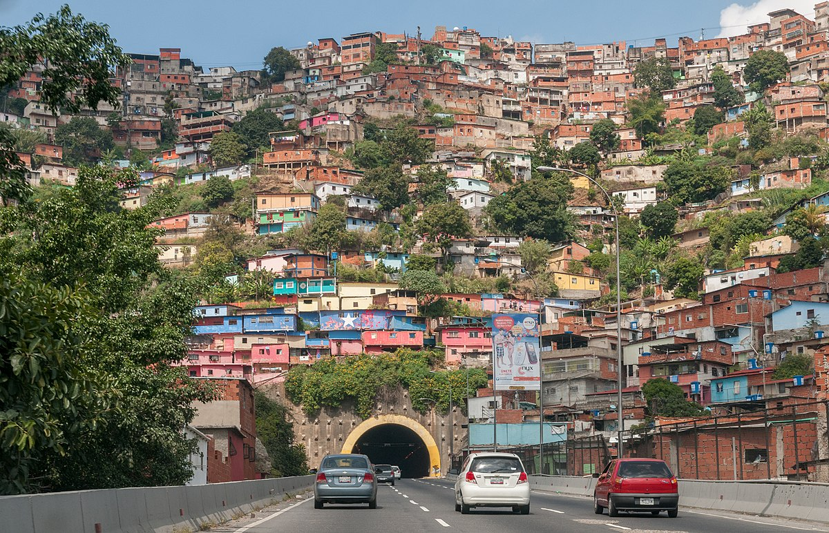 Táchira - Dictadura de Nicolas Maduro 1200px-Barrio_de_Caracas
