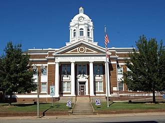 Barrow County Courthouse - Image: Barrow County Courthouse Oct 2012 3