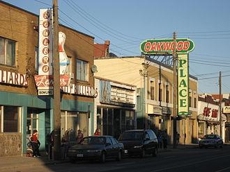Barton Street (Hamilton, Ontario) - Barton Street East