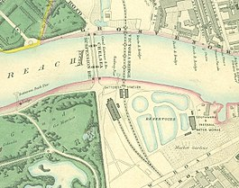 Battersea station on Stanford's Map of London.jpg