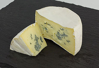 Blue cheese - Cambozola, a German variety of blue cheese