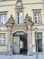 Bayreuth 03.04.07, Kanzleistrasse 7, ehem. Kanzlei, Tor IV (01).jpg