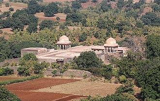 Baz Bahadur - Image: Baz Bahadur's Palace 01