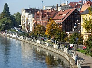Stary Port Street in Bydgoszcz Street in Bydgoszcz
