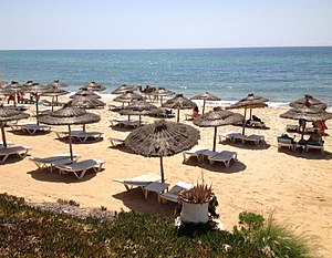 Beach in Hammamet