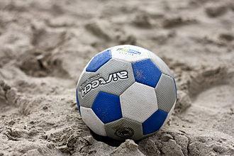 Beach soccer - A beach soccer ball