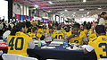 Bears at 2009 Poinsettia Bowl AT&T Team Luncheon at USS Midway Museum 3.JPG