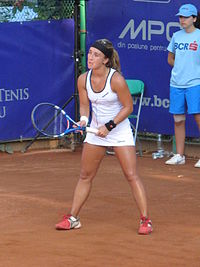 Beatriz García Vidagany at the 2011 BCR Open Romania Ladies.jpg
