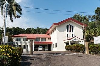 Beaufort District - Image: Beaufort Sabah Gereja Basel 01