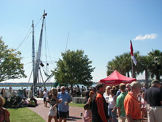 Beaufort, South Carolina - The Beaufort Shrimp Festival is one of several popular annual events in the Henry Chambers Waterfront Park.