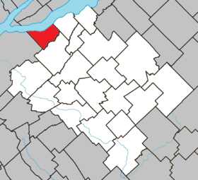 Beaumont Quebec location diagram.png