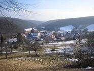 Bebenhausen Panorama Winter 2