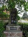 Beelitz-Rieben Denkmal Erster Weltkrieg.JPG