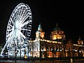 Belfast, Wheel and City Hall by night - geograph.org.uk - 611285.jpg