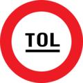 Belgian road sign C47 dutch.png