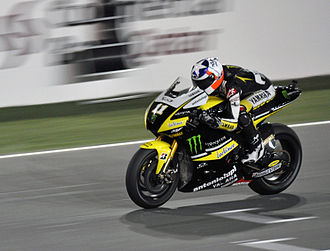 Ben Spies - Spies at the 2010 Qatar Grand Prix.