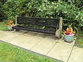 Bench, Grove Road, Mollington - DSC06896.JPG