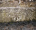 Bench Mark, Bangor - geograph.org.uk - 1732122.jpg