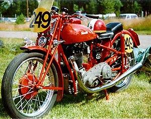 Benelli (motorcycles) - Benelli Monalbero Sport 500 cc 1935