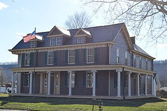 National Register of Historic Places listings in Marshall County, West Virginia - Image: Bennett Cockayne House