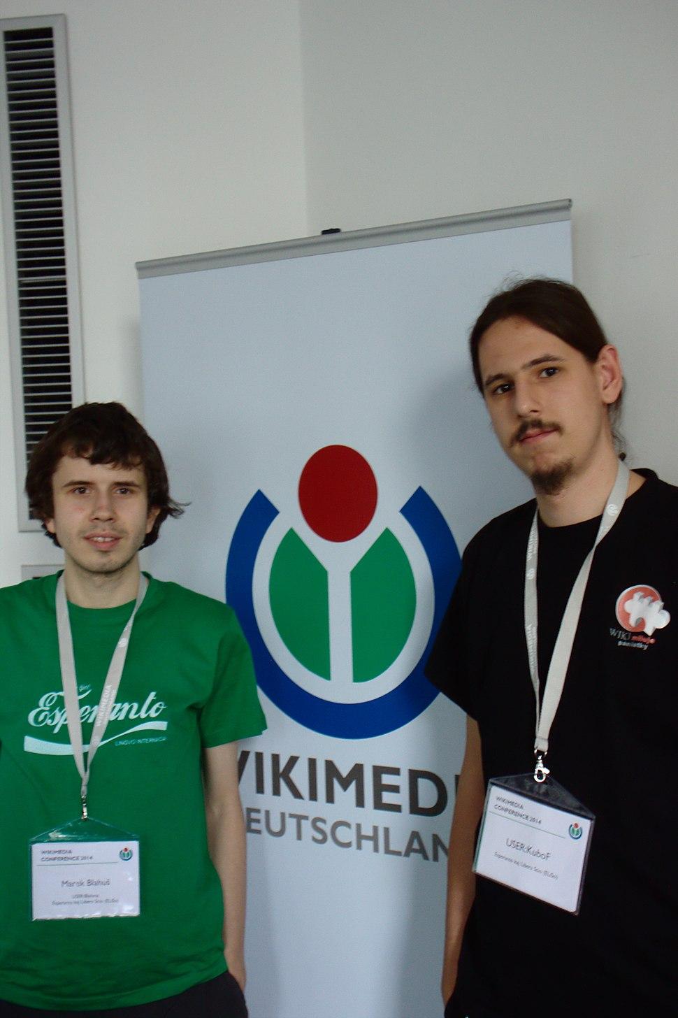 Berlín, Wikimedia Conference, esperantisté