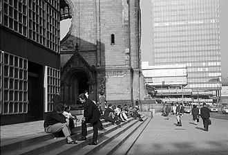 Europa-Center - Memorial Church and Europa-Center, 1965