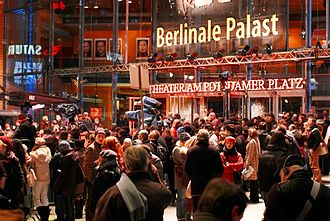 Berlin International Film Festival - The Berlinale Palast is the venue for the competition premieres